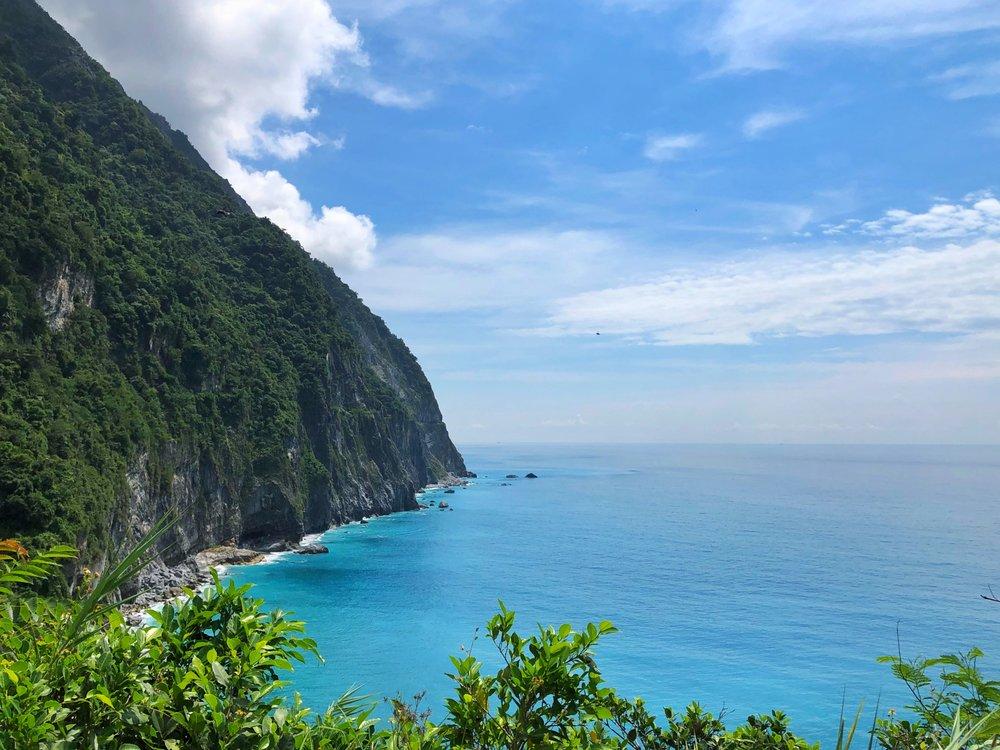 qingshui cliff hualien taiwan