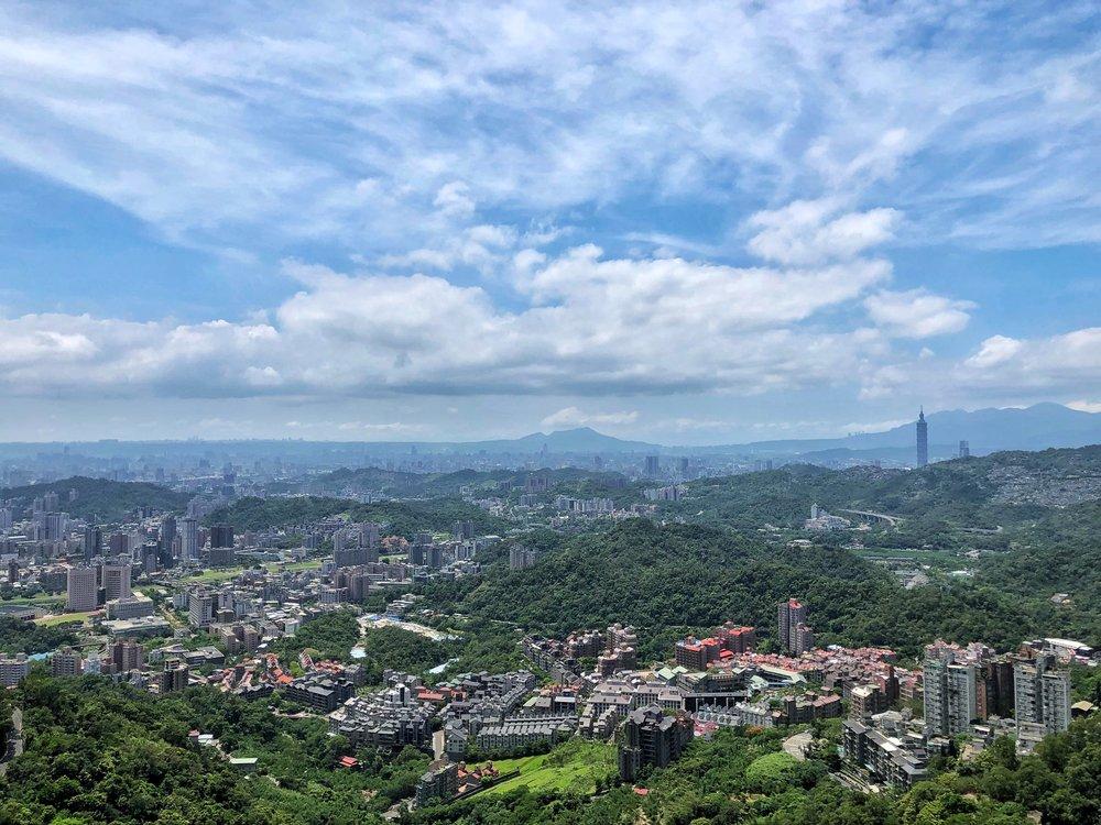 maokong gondola views