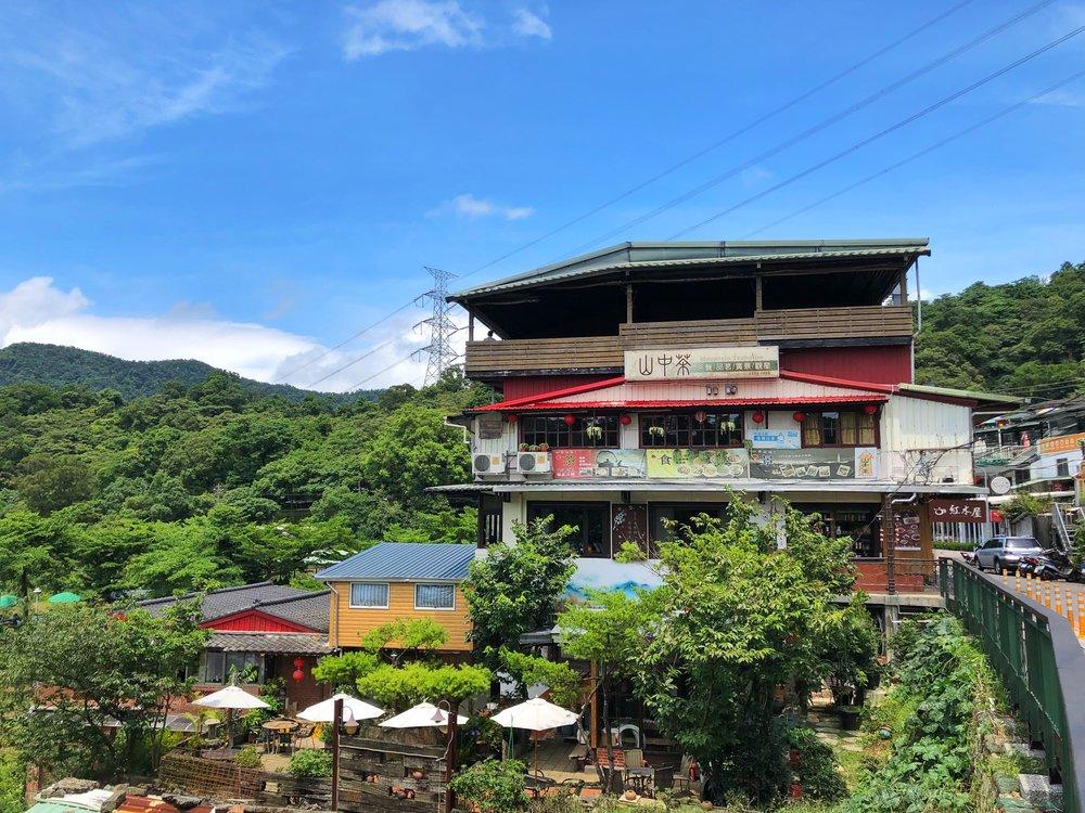 maokong tea houses