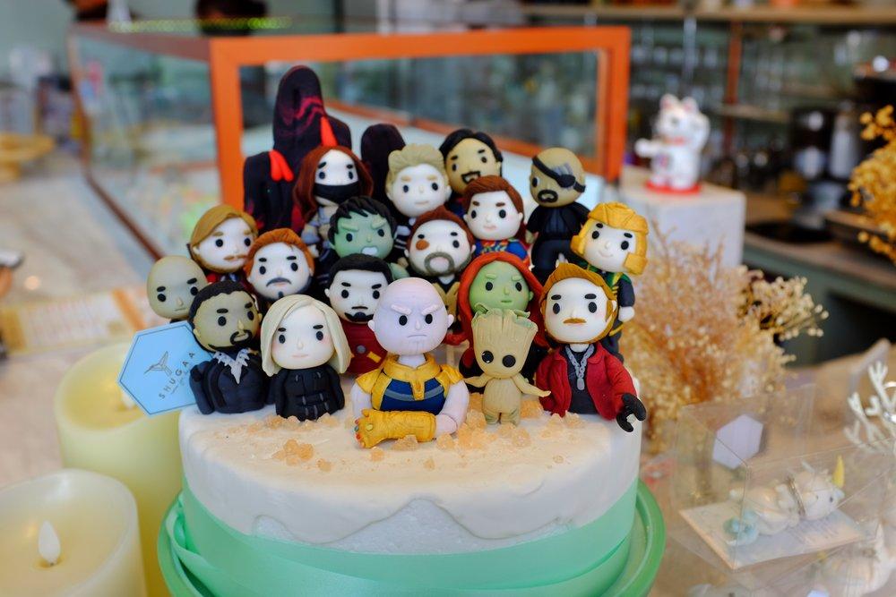 Shugaa Bangkok fondant cake