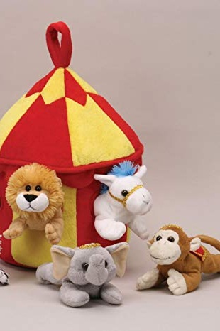 For every donation valued over $500 - Your child will be entered into a raffle for a circus animal plush (5 available). Winners will be announced on February 1, 2019 at the Greatest Showman Sing-A-Long event!**Images are representative only and do not depict the actual prizes.