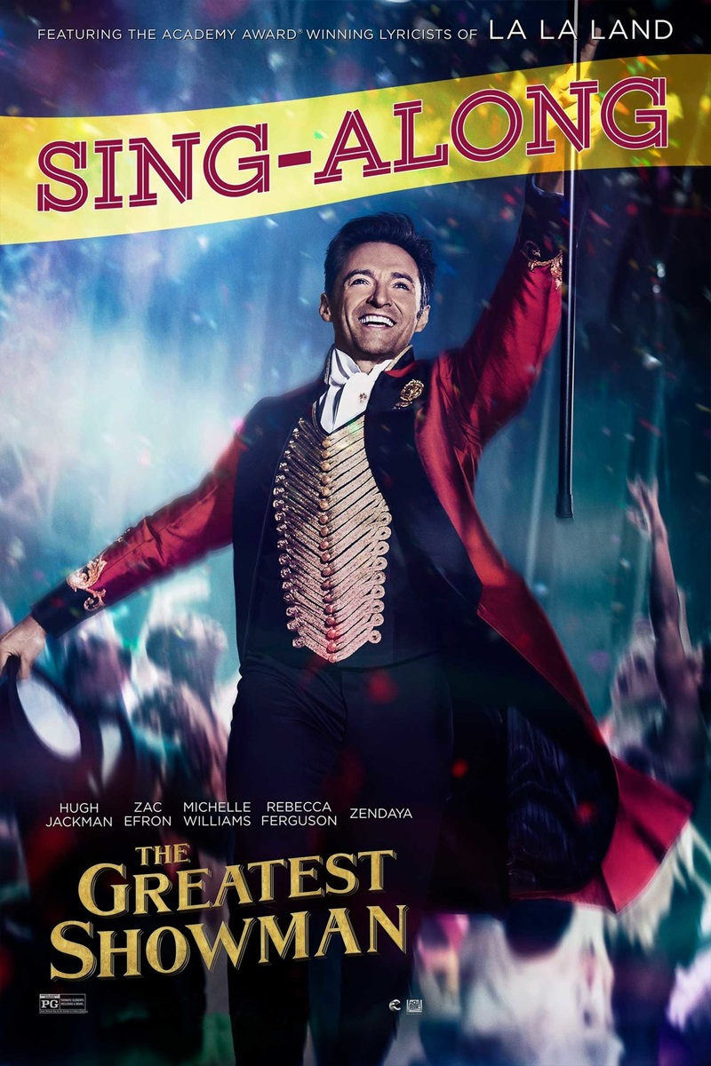 For every donation valued over $250 - Your child will be invited to an after-school showing of the Greatest Showman Sing-A-Long on February 1, 2019.
