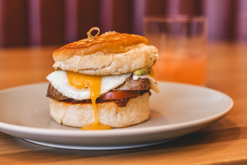BUFFALO BILL BREAKFAST SANDWICH