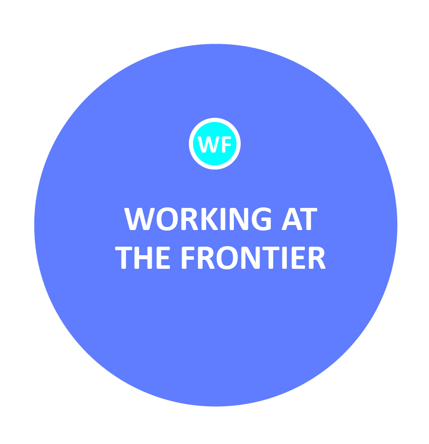 Working at the frontier means being creative and flexible, going outside the box when needed to support families -