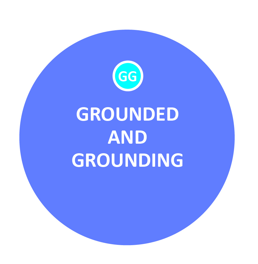 Being grounded means being able to meet families where they are, and being grounding means helping them focus on the here and now -