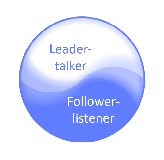 Helpers have to be ready to lead and talk, as well as to listen to parents and follow where they want to go -