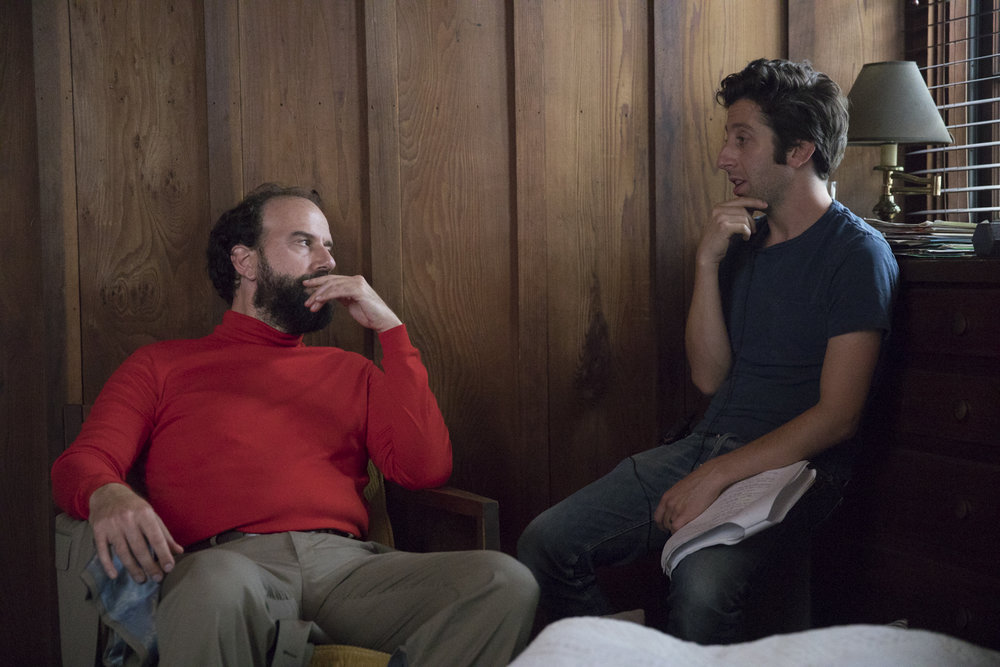 Brett Gelman and Simon Helberg
