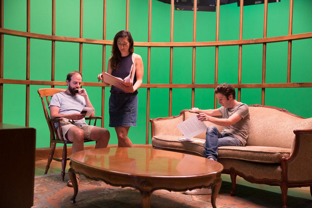 Brett Gelman, director Jessica Sanders & Simon Helberg