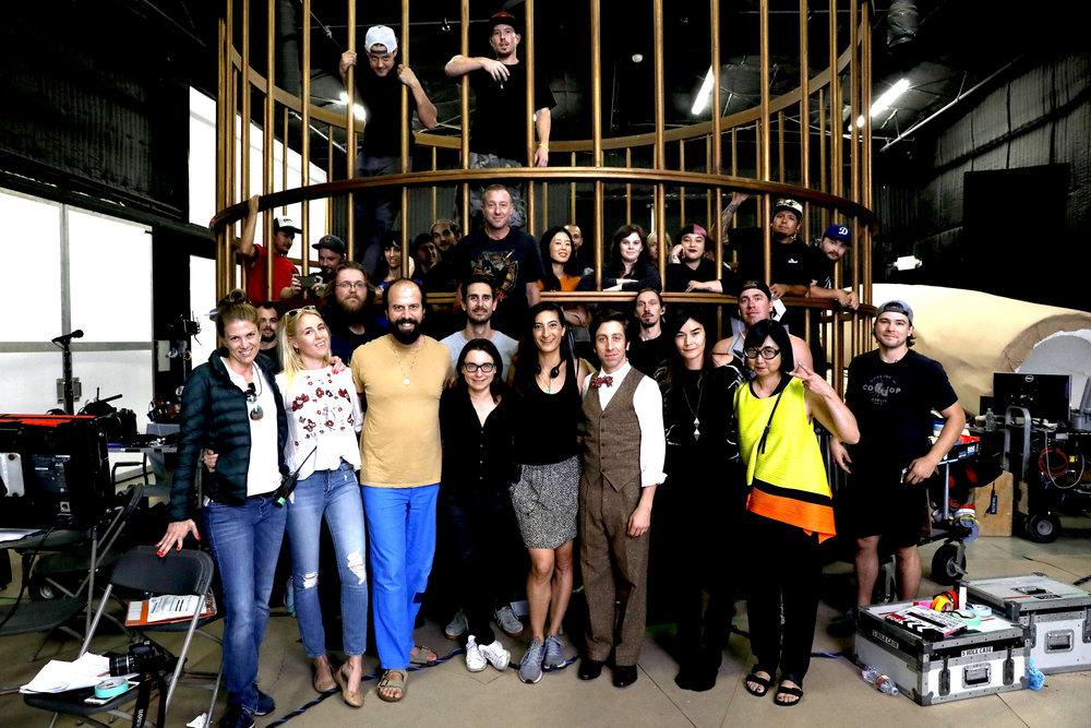 END OF THE LINE CAST & CREW,AUGUST 2017 - QUIXOTE STUDIOS