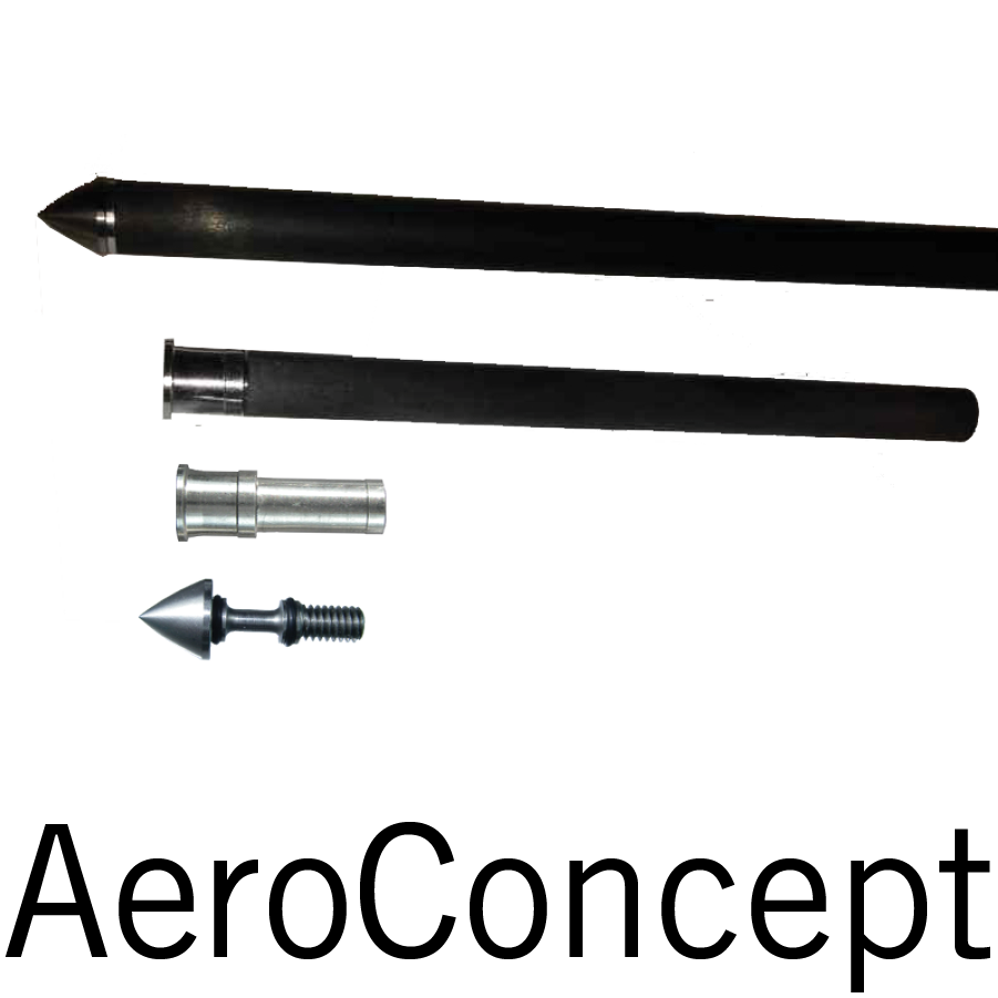 "Note that only certain sizes (i.e. 0.202"", 0.246"", 0.300"", 0.315"") are compatible with the AeroConcept System."