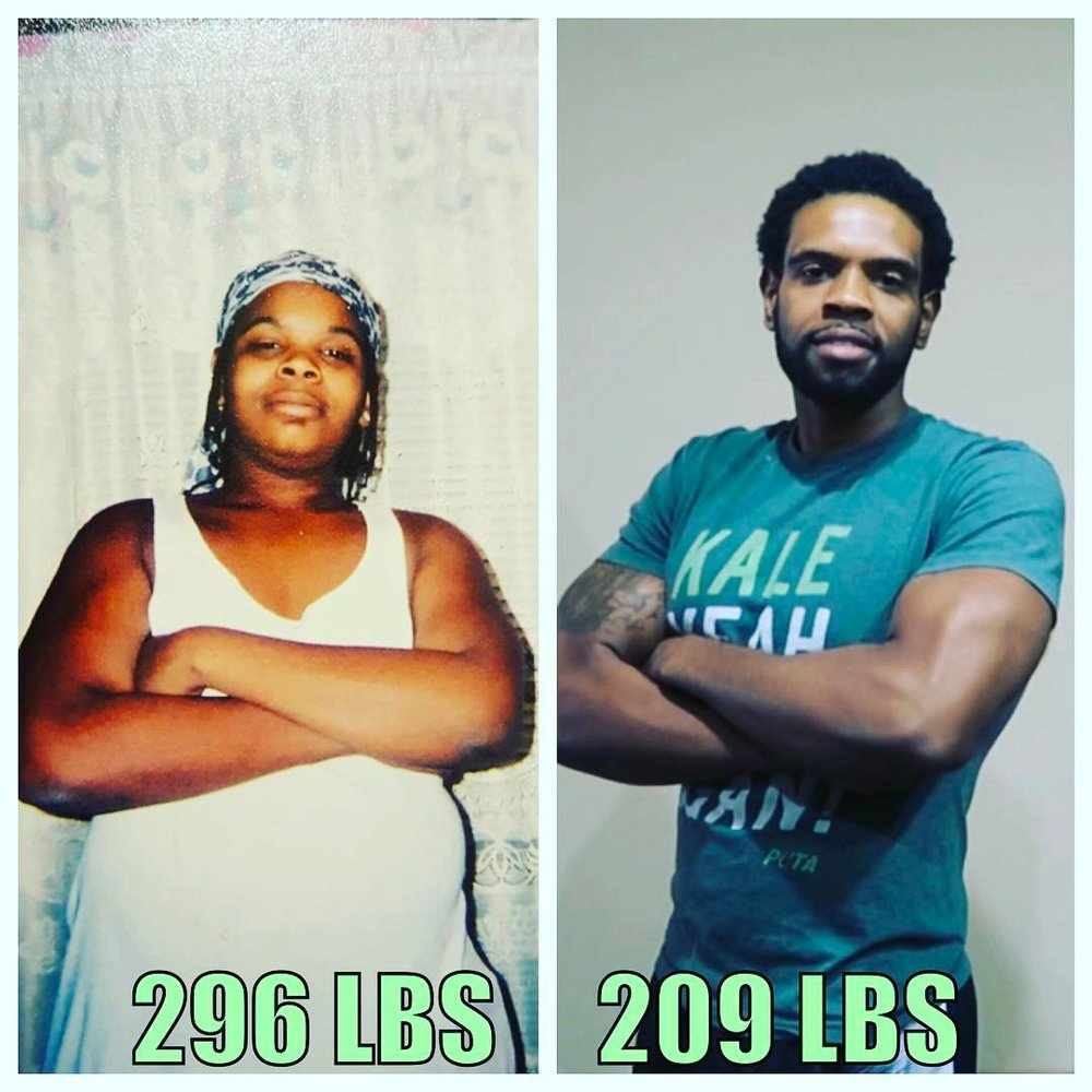 Tay Sweat shows his own transformation to inspire others to do the same!
