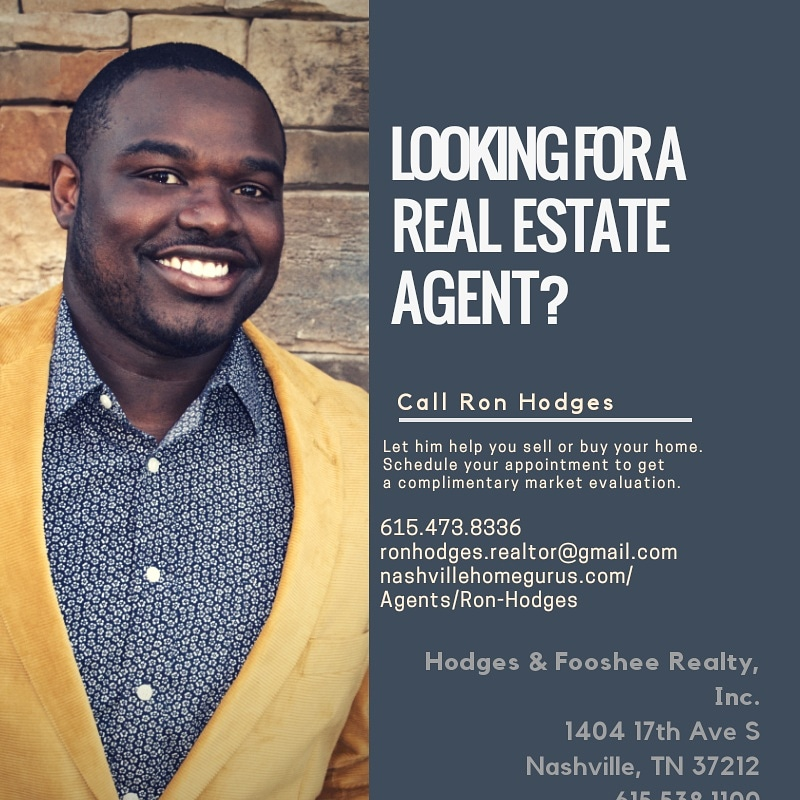 "Ron Hodges ""Real Estate Agent""     Hodges & Fooshee Realty, Inc. 