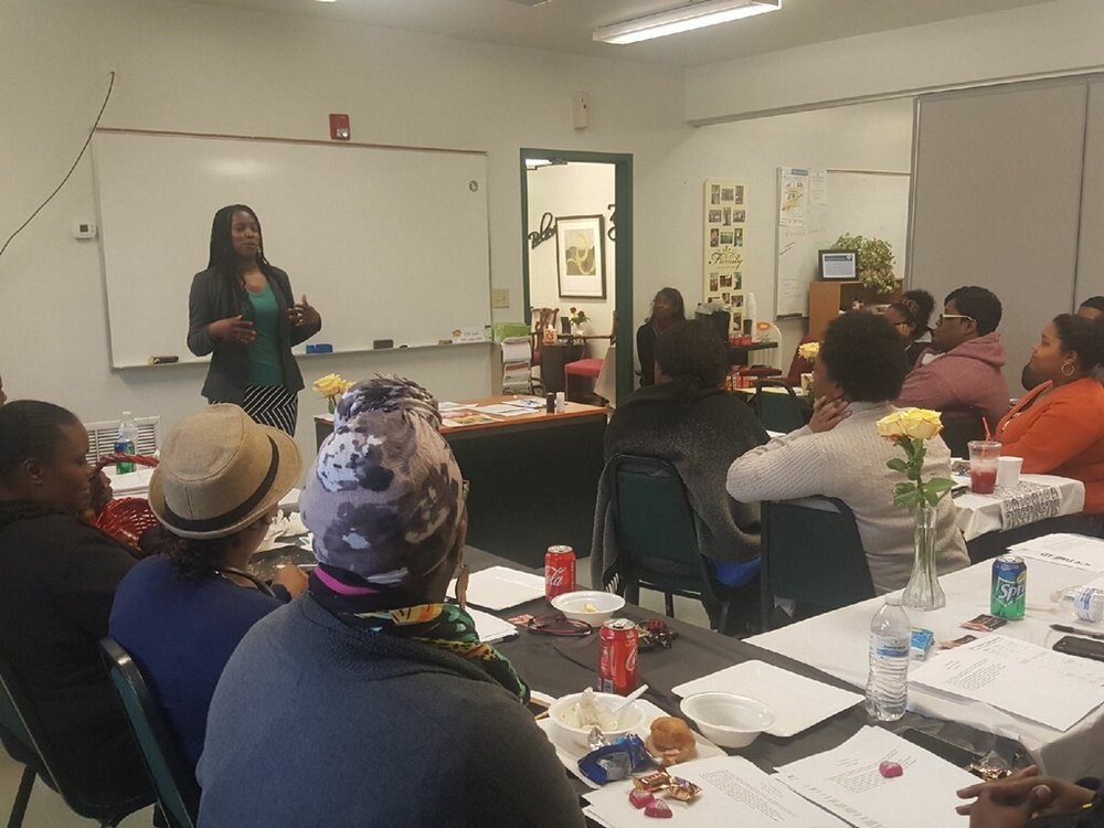 Christian Community Services, Inc. (CCSI)      Cleo's First Speaking Event |February 17, 2018