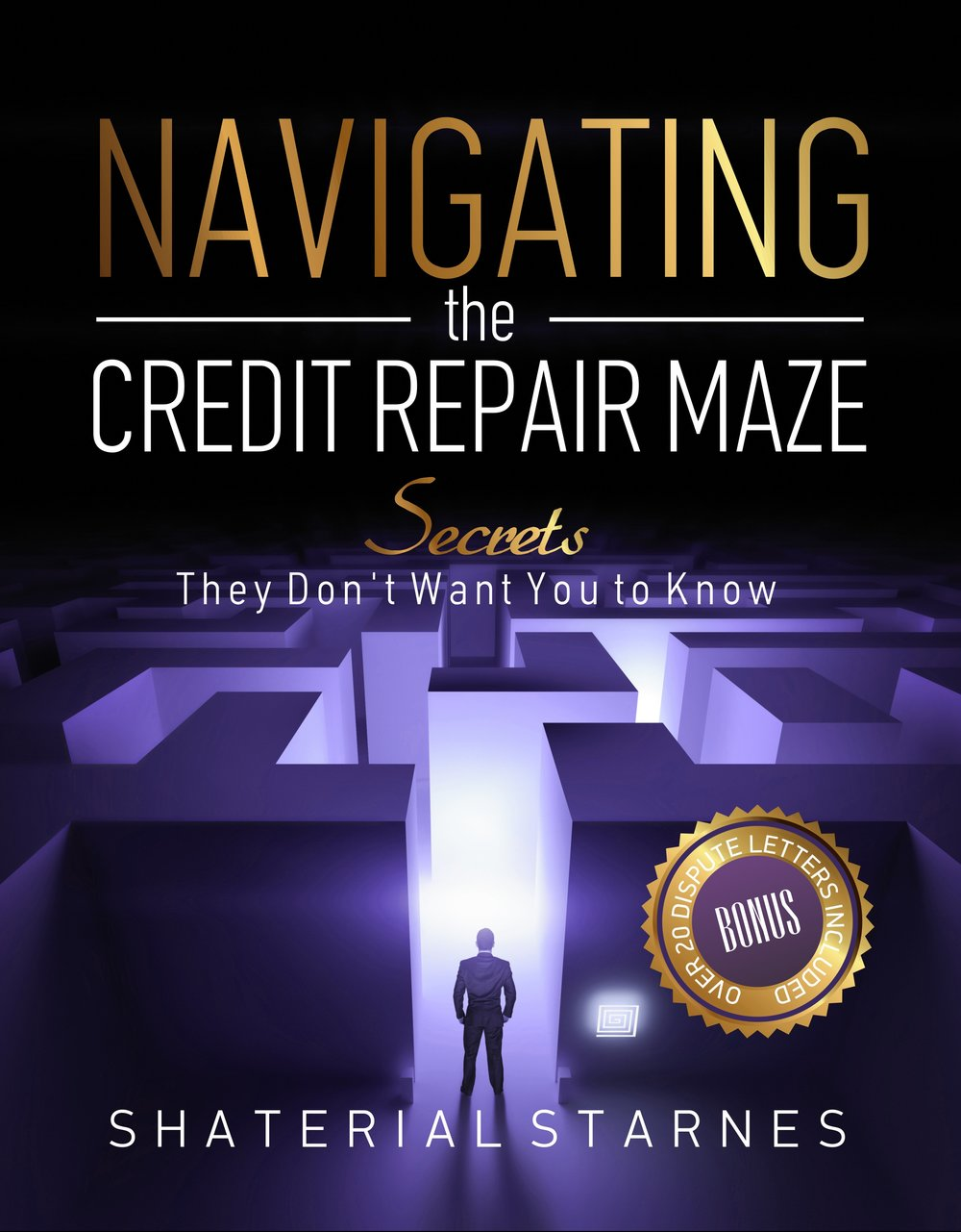 """Navigating The Credit Repair Maze""      Author: Shaterial Starnes"
