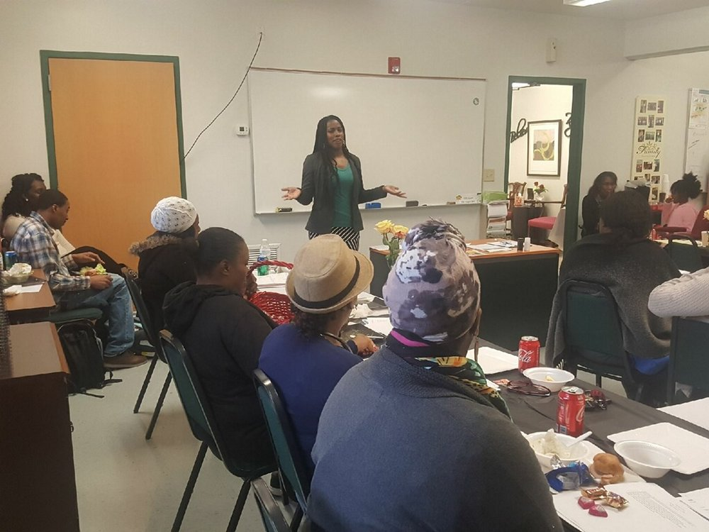 Date: February 17, 2018    Location: Nashville, TN     Event: Spoke to graduates of the Mentoring Towards Independence Program with CCSI Christian Community Services Inc.