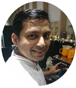 welcome our head chef naved! he's the mastermind behind all our yummy food and the creator of our daily home-made bread-need we say more?!   all time food heaven  - anything good, just with friends and family