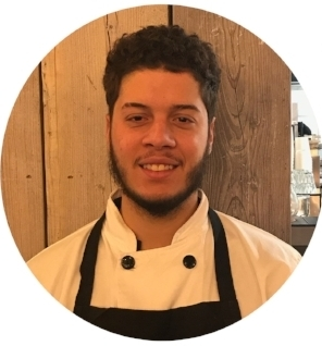 Yunior is our fun loving helping hand in the kitchen and plays a vital part to our day-to-day runnings! . when he's not working hard back of house, you can find him down the gym - great self motivation!   his fave coffee?  a nice cold beer after a day in a hot kitchen!