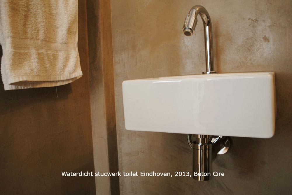Stucwerk Badkamer Waterdicht : Badkamer stucwerk u2014 eigensinn natuurlijk wonen
