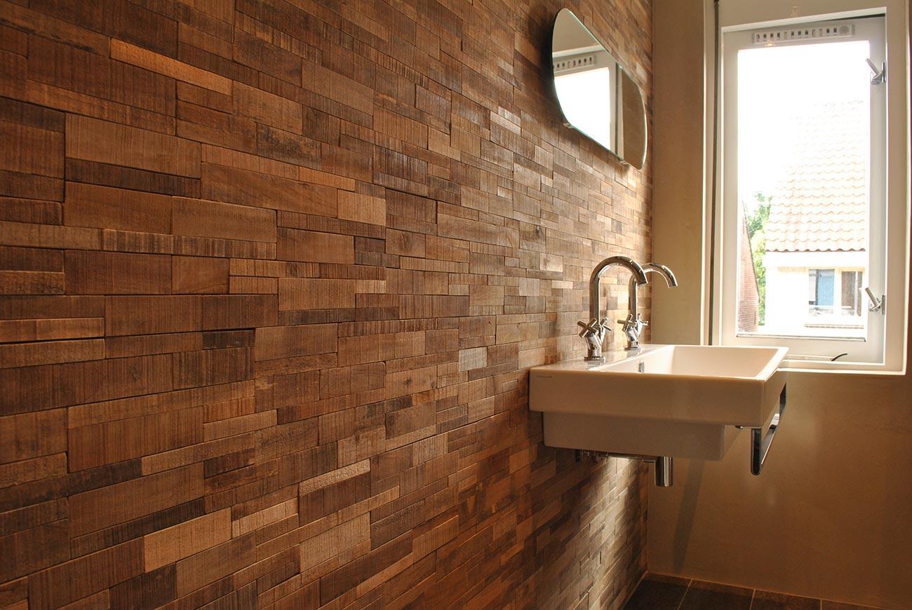 Badkamer stucwerk — Eigensinn - Natuurlijk wonen