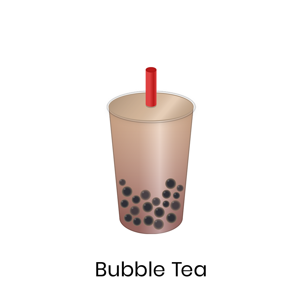 Bubble tea  Bubble Tea is a representative Taiwanese drink which combines milk tea and tapioca balls. There are many varieties of this drink with a wide range of ingredients.