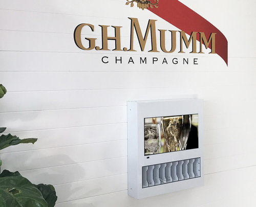 Chargespot at G.H.MUMM Launch