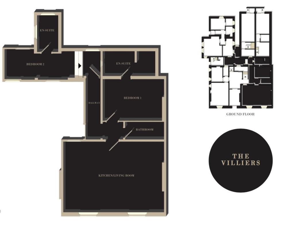 The Villiers floor plan