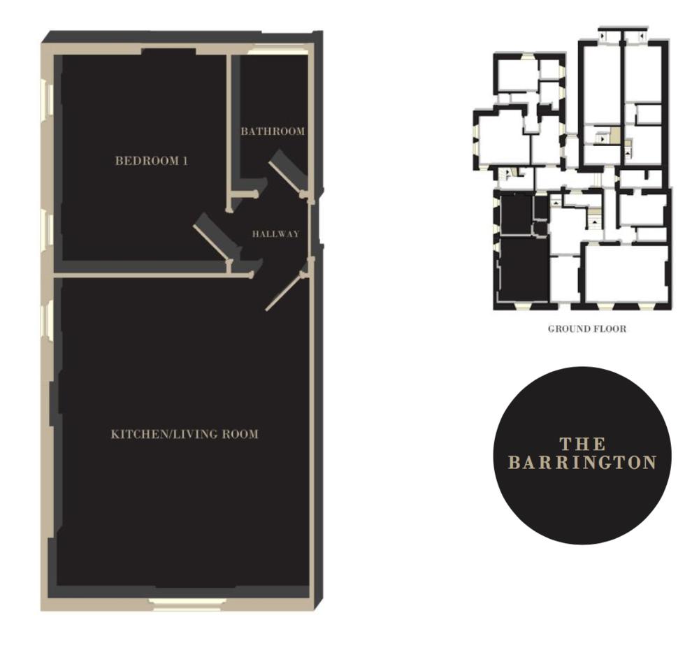 The Barrington floor plan