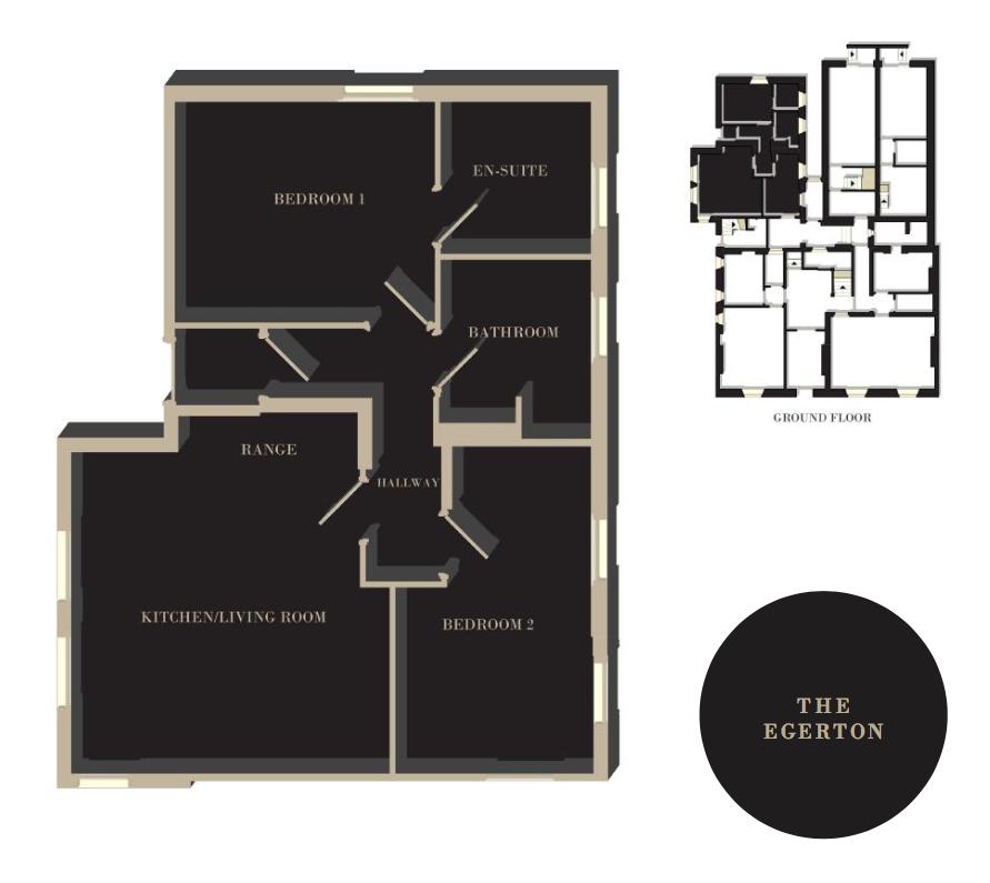 The Egerton floor plan
