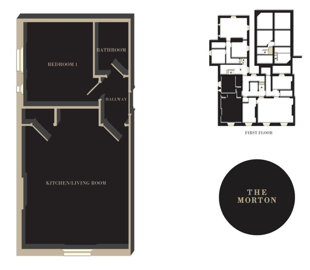 The Morton floor plan