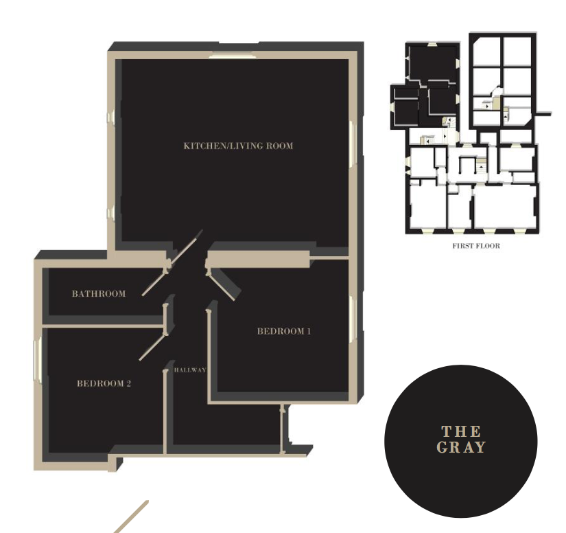 The Gray floor plan