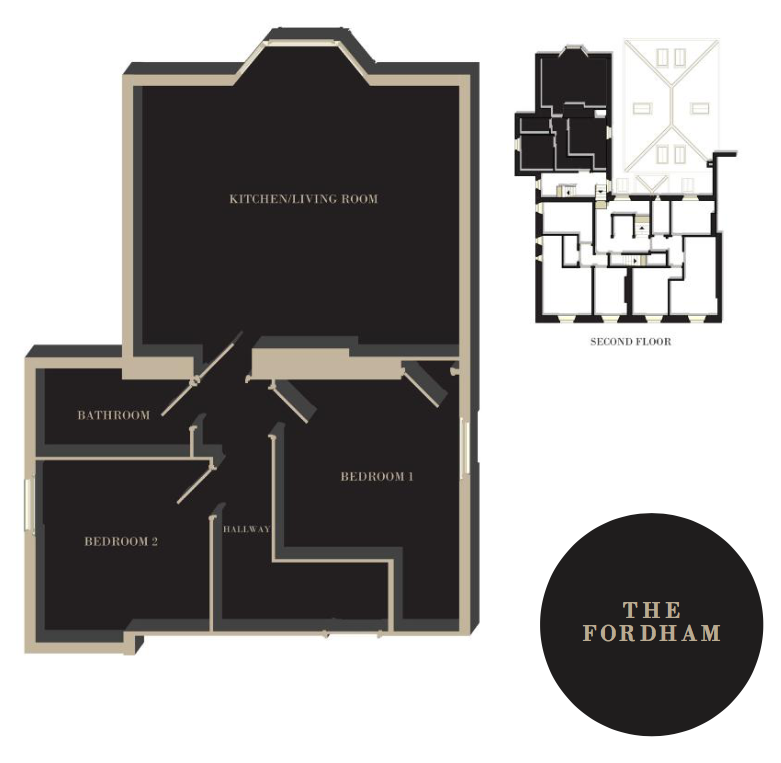 The Fordham floor plan