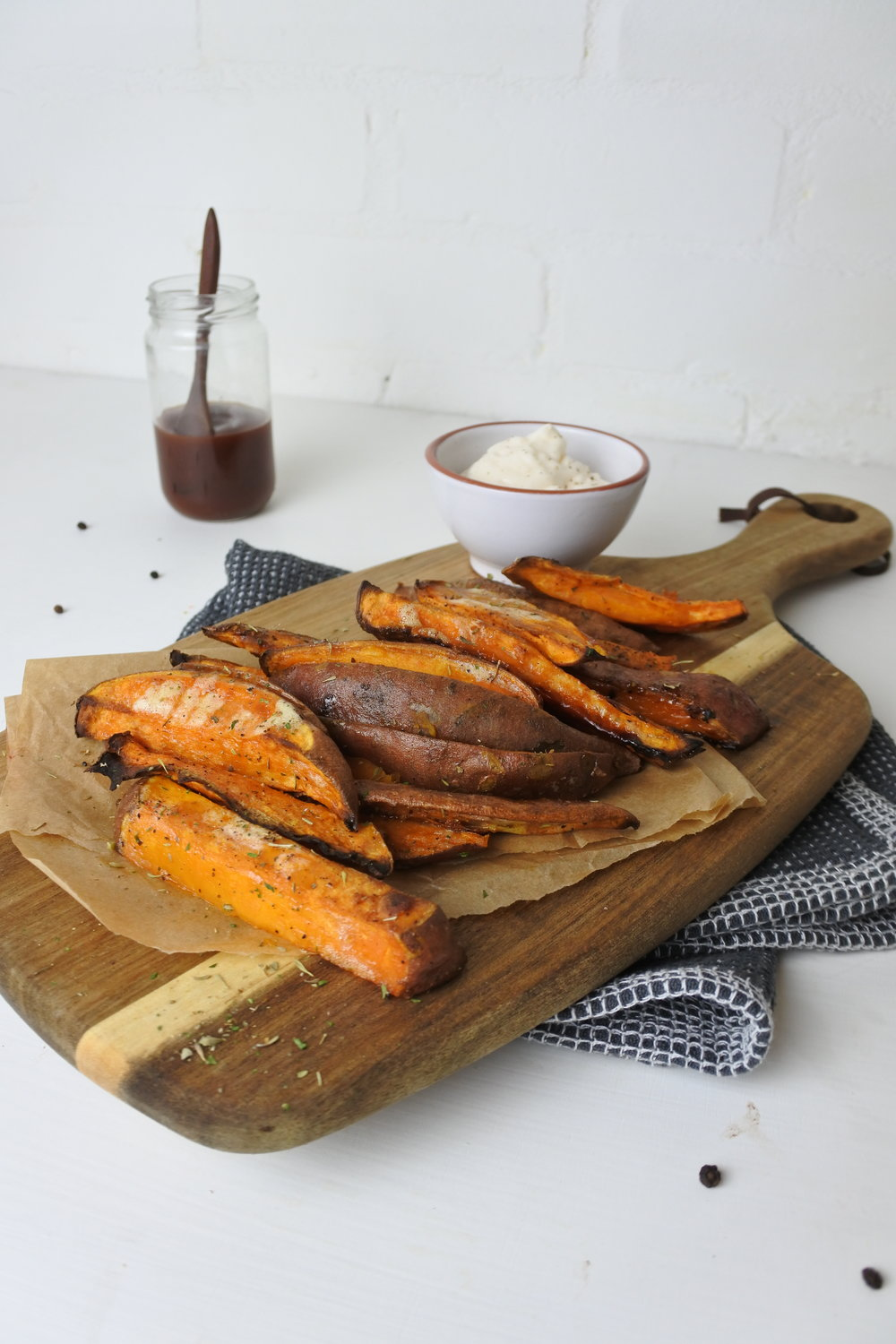 MAPLE SWEET POTATO FRIES
