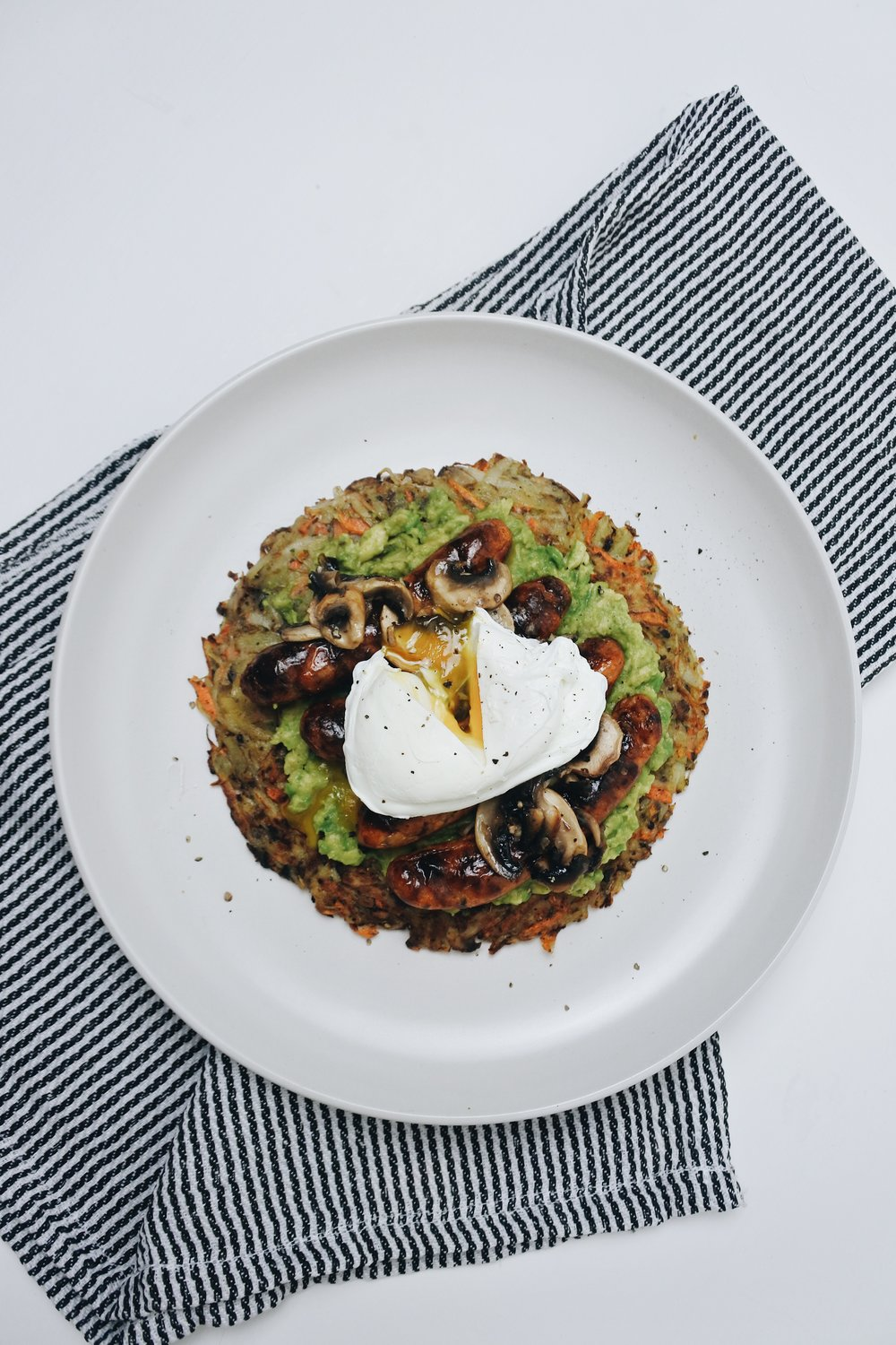 LOADED SWEET POTATO ROSTI