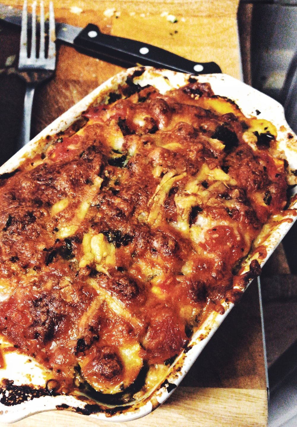 HEALTHY TURKEY LASAGNE