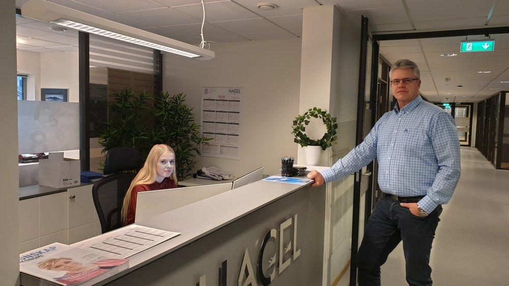 Kjell Ulvatn, daglig leder i Hagel ber folk være ytterst kritisk til fakturaer tilsendt som PDF-fil på e-post.