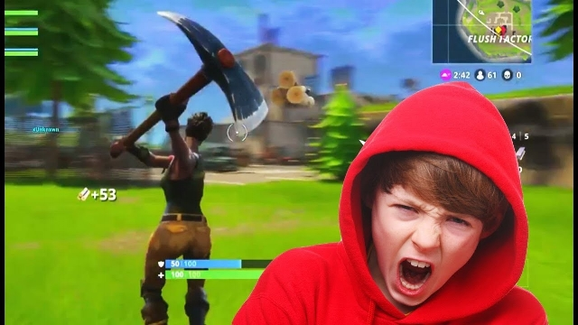 Fast Food induced Fortnite Rage