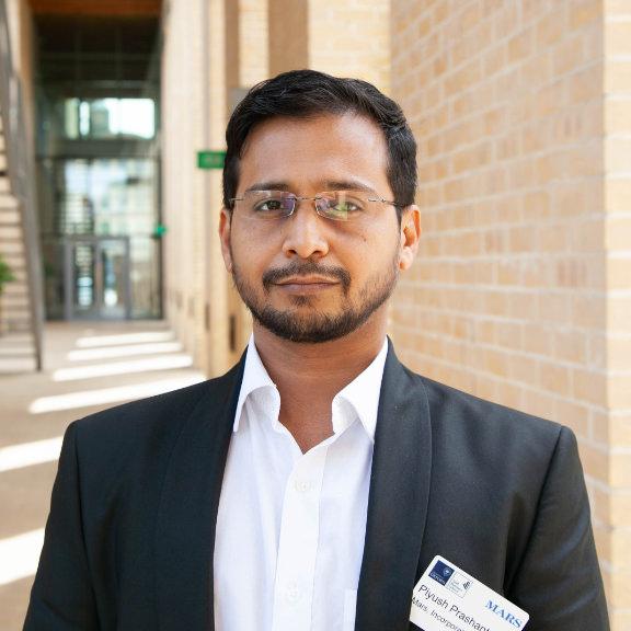 Piyush Prashant - Senior Operations Manager
