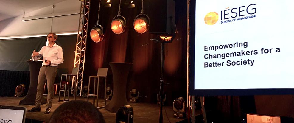 Bruno Roche Speaks at IÉSEG 2025 Vision Convention -