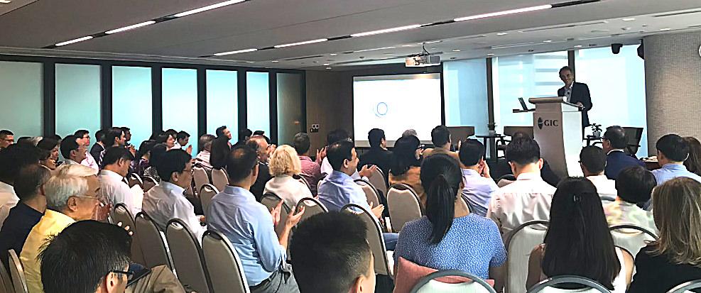 Bruno Roche Presents at GIC, Singapore -