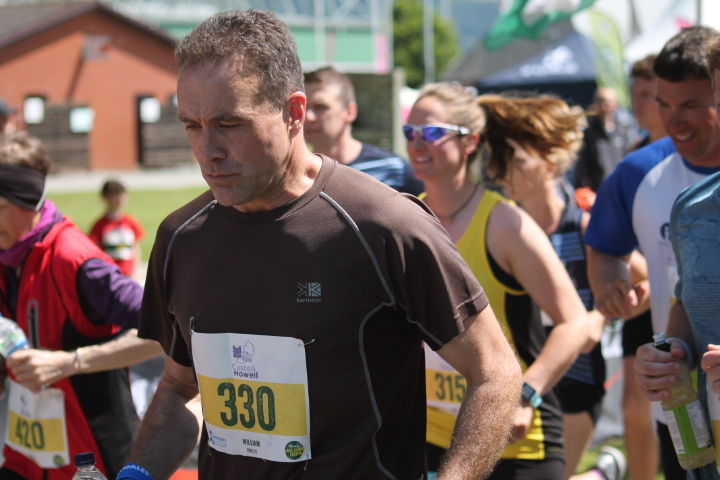 Looking quite happy at the start