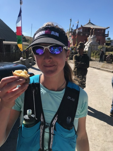 Potatoes with Salt were a great snack at each aid station