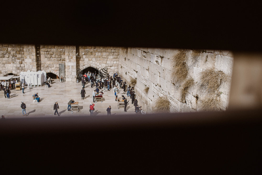 The Western Wall - Old City Jerusalem