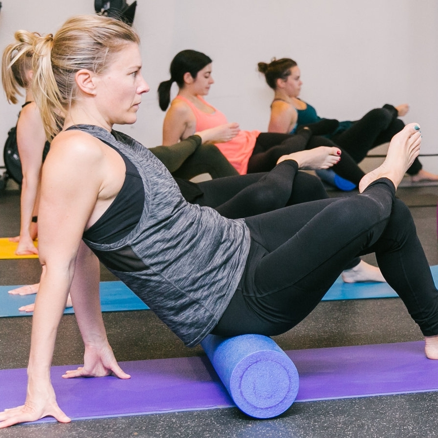 "ROLL & RELAX   For the YOGAthlete in need of restoration.  A therapeutic recovery class which starts with full body foam rolling and finishes with deep stretching inspired by yin yoga.  ""Self care is not about self-indulgence, it's about self-preservation."""