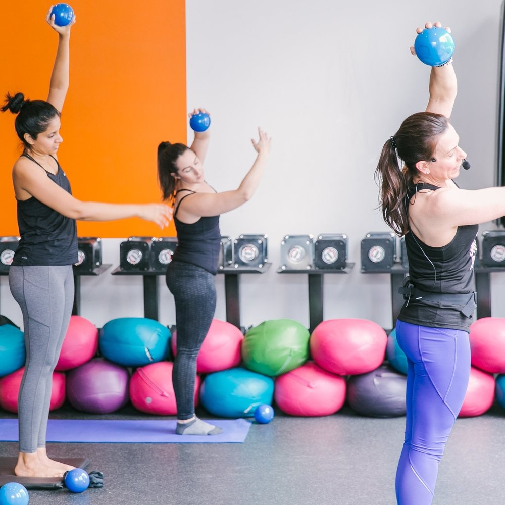 """Barre Fit®   For the dance loving YOGAthlete.  If your dream is to have a toned lean dancer's body, well you have to train like one. Fitness class inspired by ballet barre technique.  """"If you don't leap, you'll never know what its like to fly."""""""