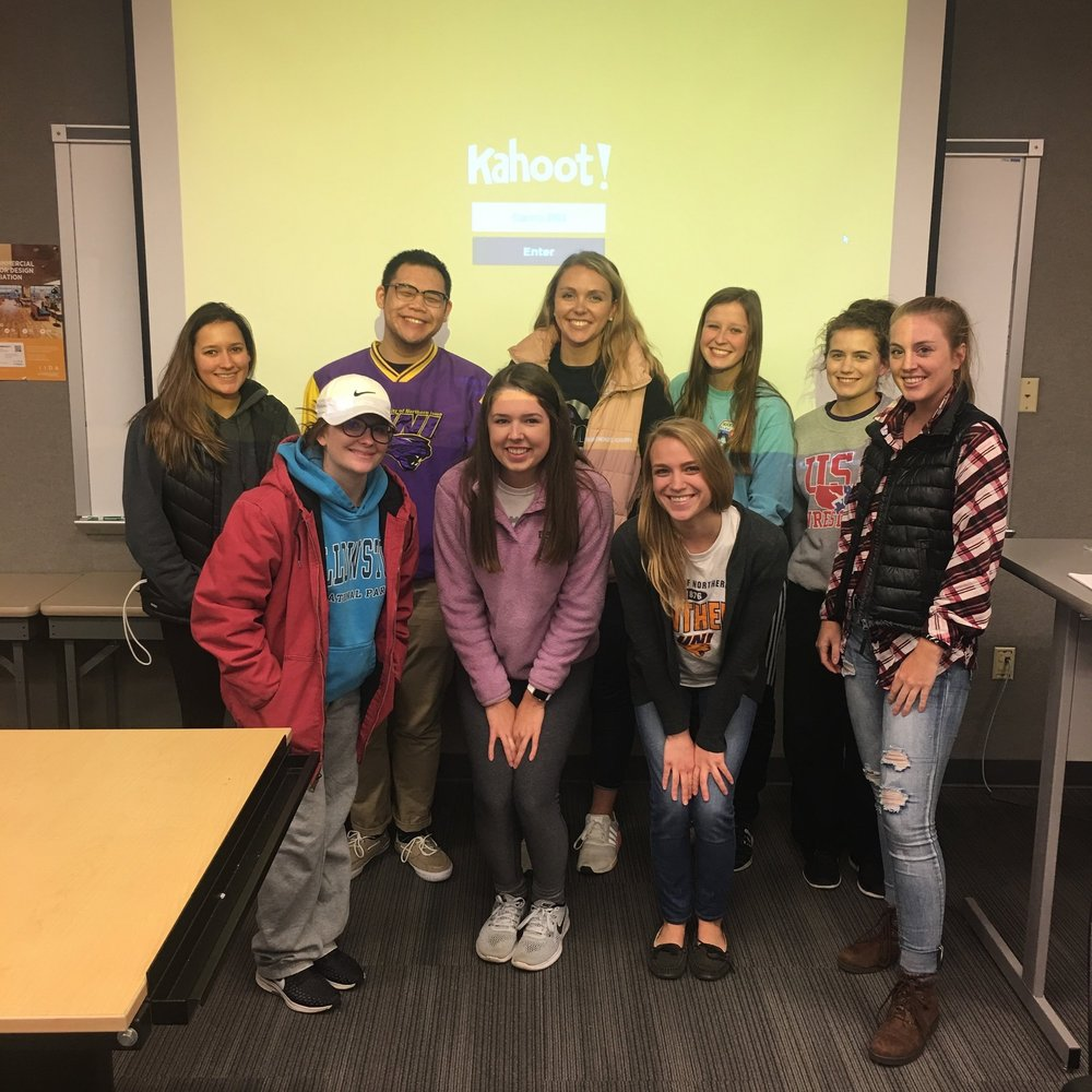 UNI - The University of Northern Iowa Campus center competed in a heated game of Interior Design Advocacy Jeopardy.