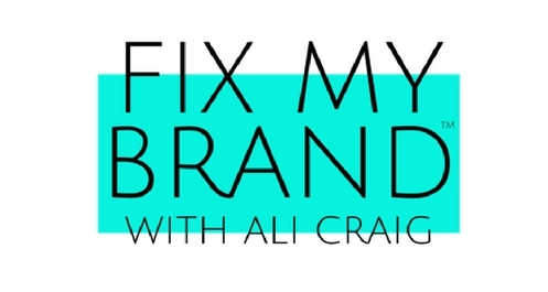 FIX MY BRAND WITH ALI CRAIG LOGO
