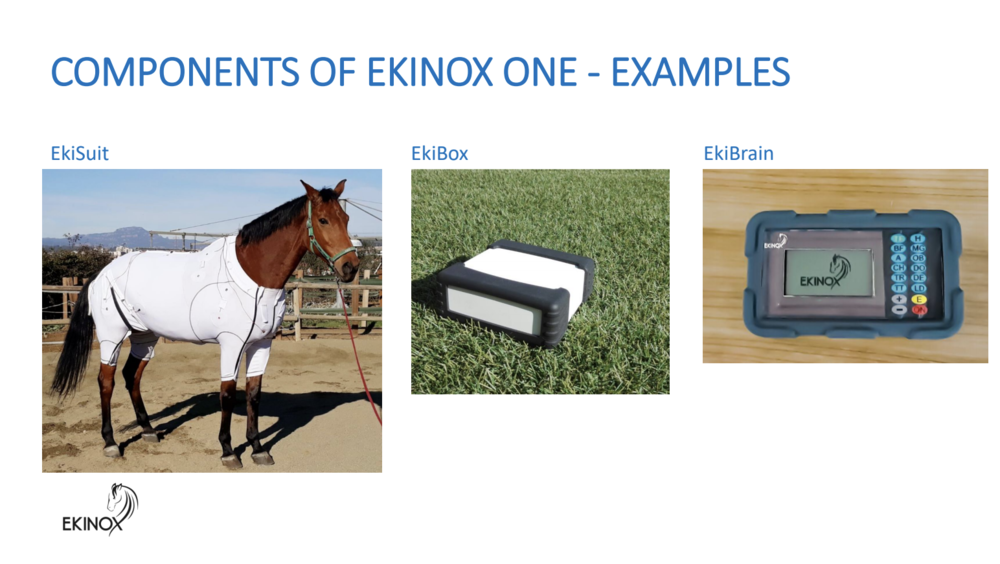 The components that make up Ekinox One.