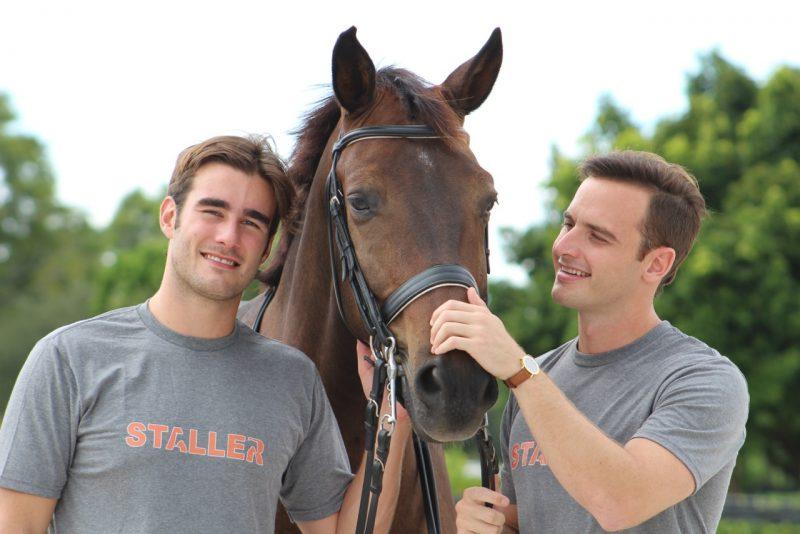 Pablo Jimenez Godoy and Arturo Ferrando, creators of Staller app.