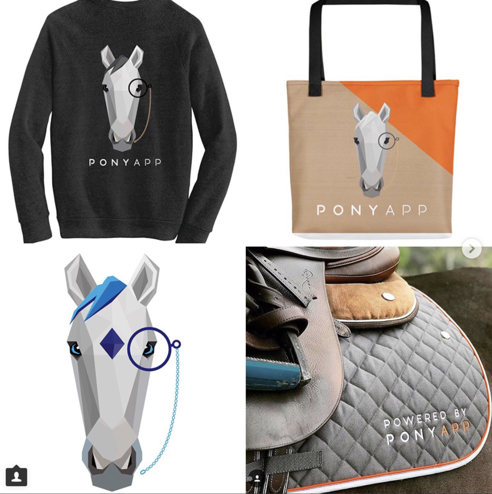 The PonyApp merchandise has been very successful including some of these favorites