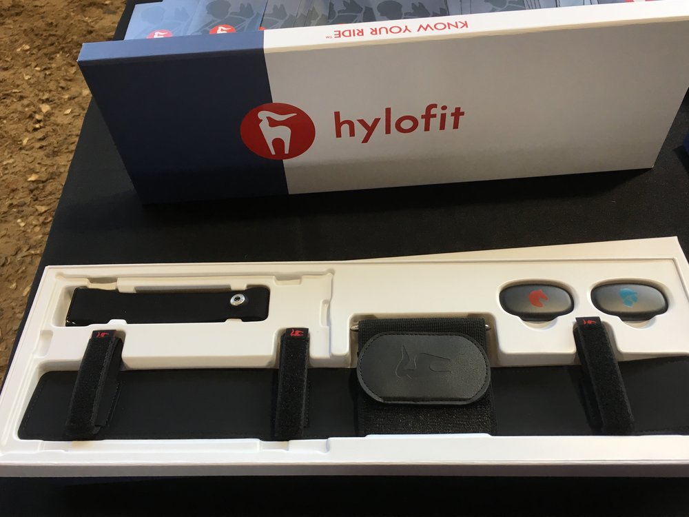 The simple girth attachment and watch make it easy to monitor and track heart rate for both horse and rider.